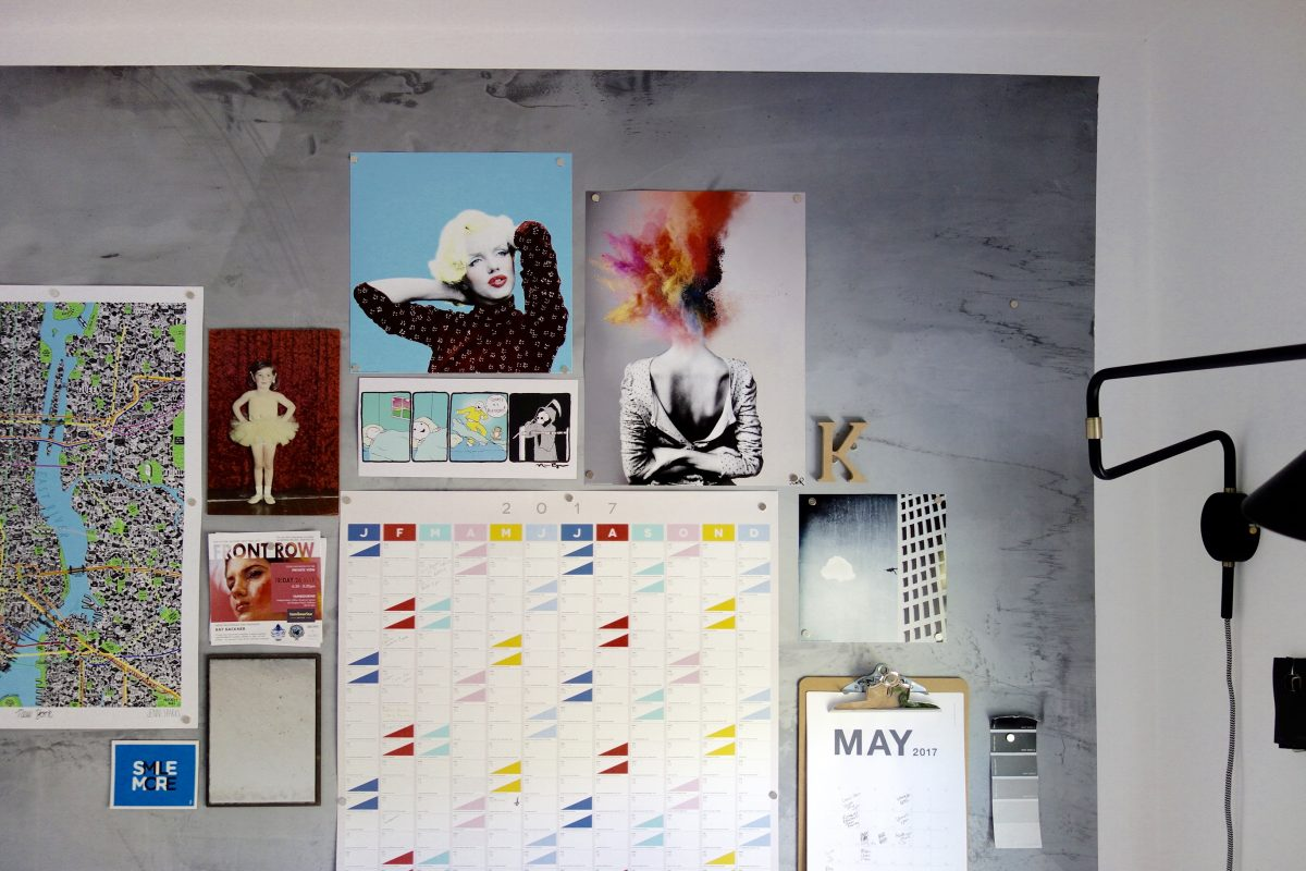 Magnetic Plaster Gallery Wall