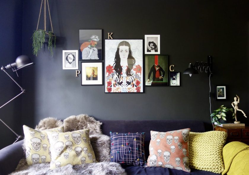 What to consider when choosing art for your home? Orientation, scale, format....
