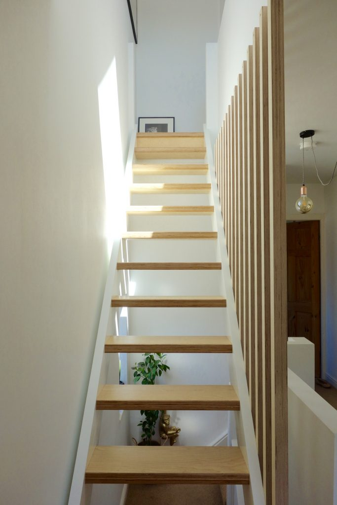 Loft extension staircase