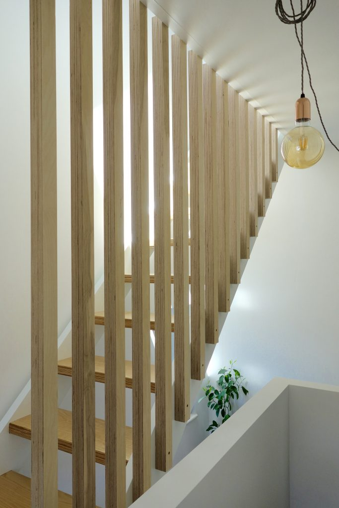 Minimal Staircase and Banister