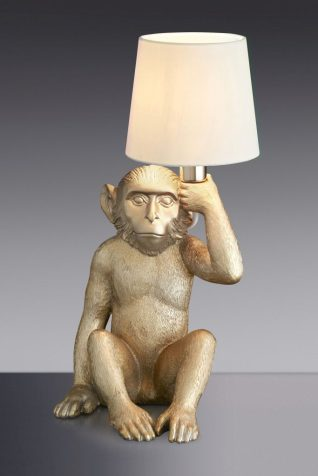 Monkey Table Lamp from Next