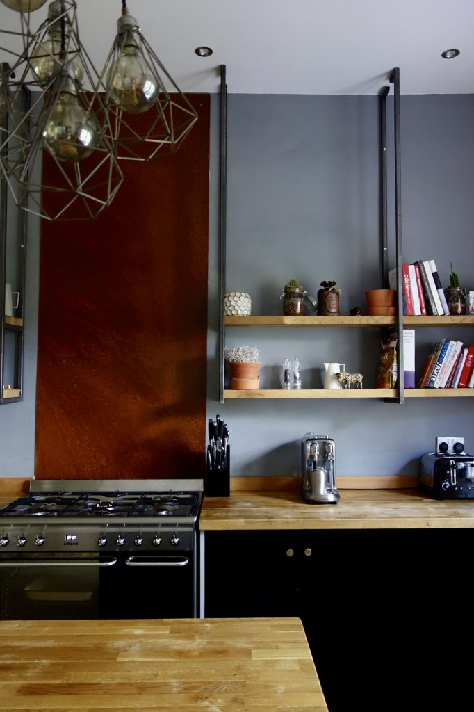 Industrial Kitchen Shelving