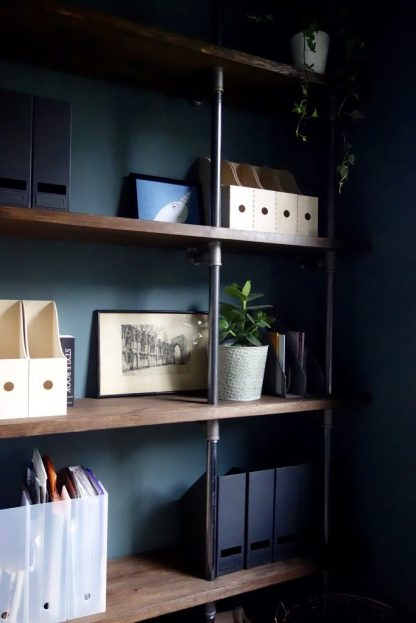 Bare Joinery Gas Pipe Shelves
