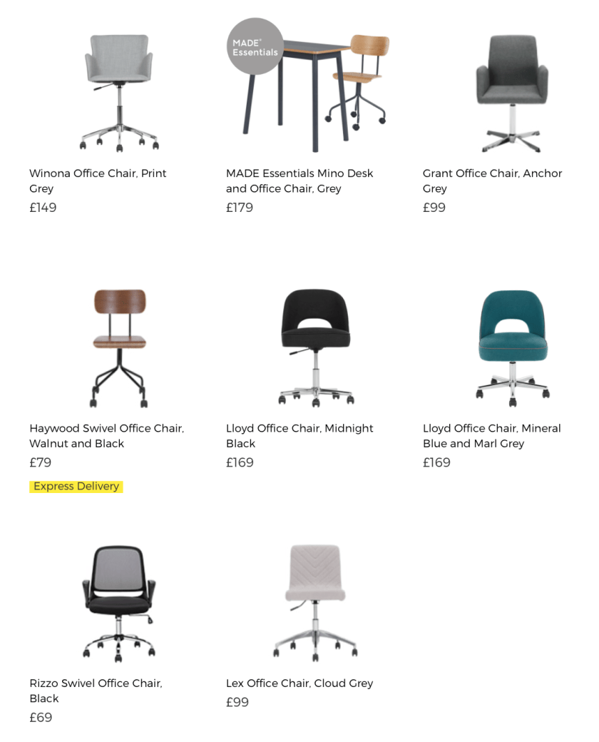 Office Chair MADE.COM