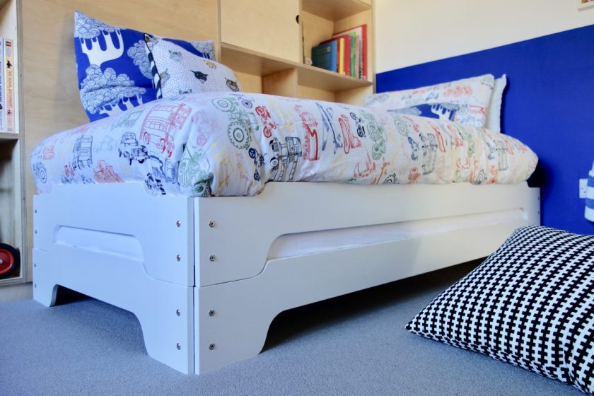Stacking beds