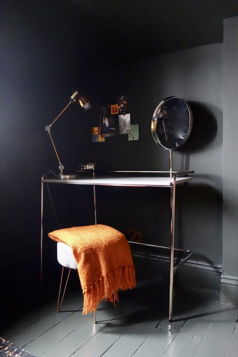 MADE Alanna Copper Dressing Table