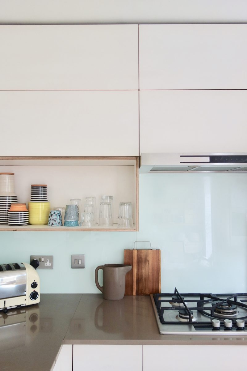 Kitchen Update with Full Height Wall Cupboards