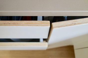 Birch Plywood Kitchen Fronts