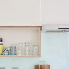Kitchen Facelift Best Lights For A Final Reveal From White Gloss To Ply Making Spaces Plywood