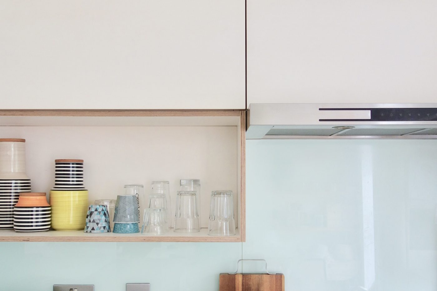 kitchen facelift island counter final reveal from white gloss to ply making spaces plywood