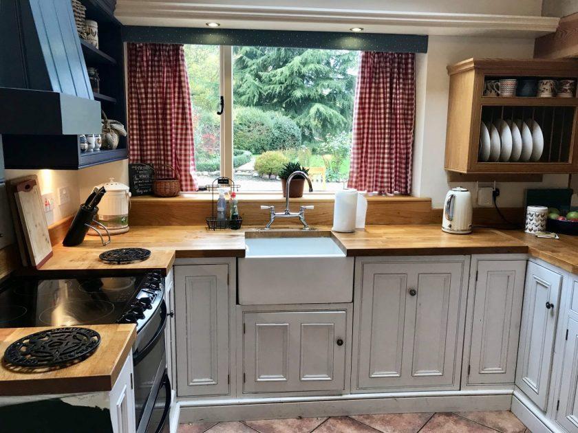 Victorian Cottage Kitchen Before