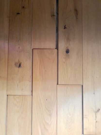 Solid Oak Flooring Gaps