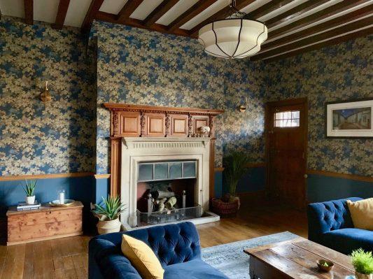 Vine Bleu Room Online Interior Design