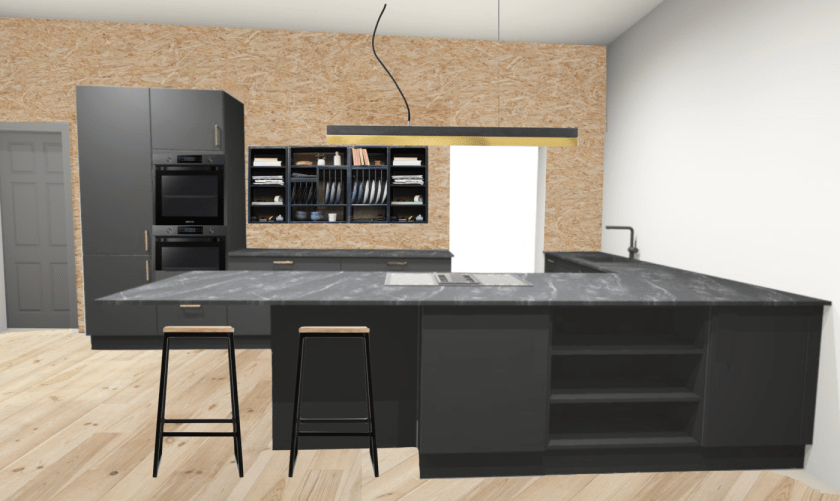 Kitchen Mock Up
