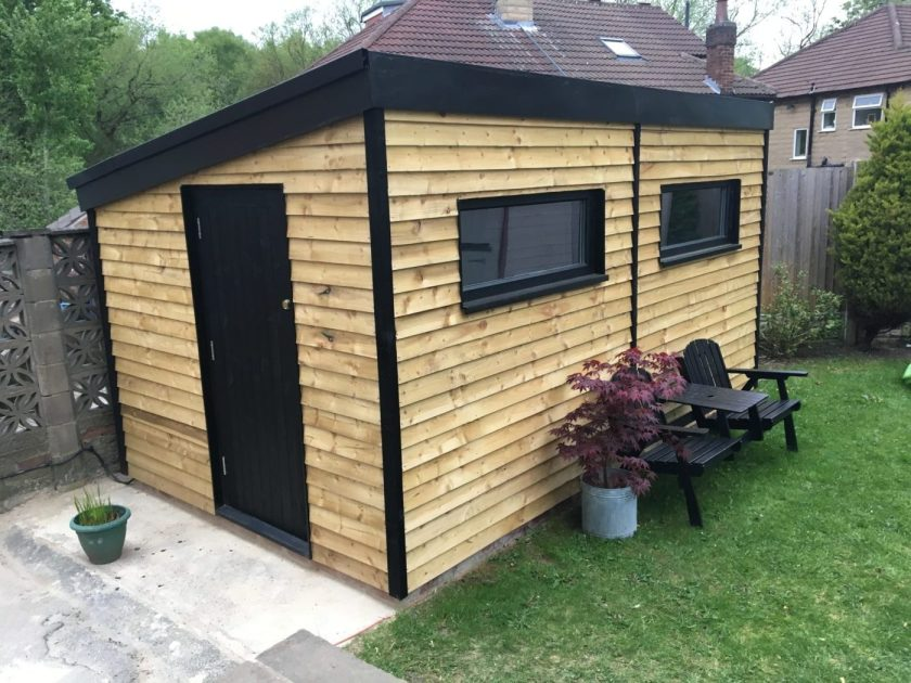 Timber outbuidling DIY
