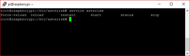 Options service asterisk