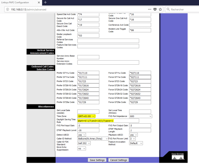 adaptateur PAP2T - Time saving
