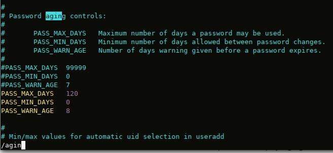 stratégie de changement régulier de mote de passe