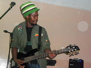 Peter Amidu - Guitar - Al around quite guy
