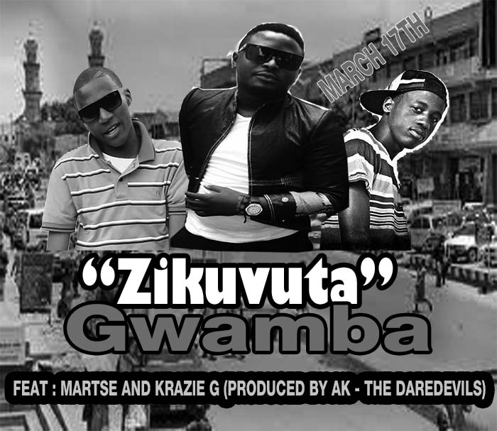 "Gwamba, Krazie G and Martse team up for ""Zikuvuta"""