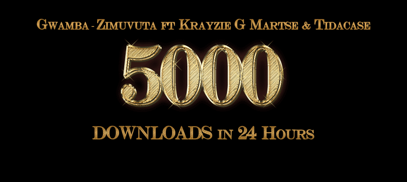 Gwamba - Zimuvuta ft Krazie G, Martse, and Tidacase Hits 5000+ Downloads In 24 Hours
