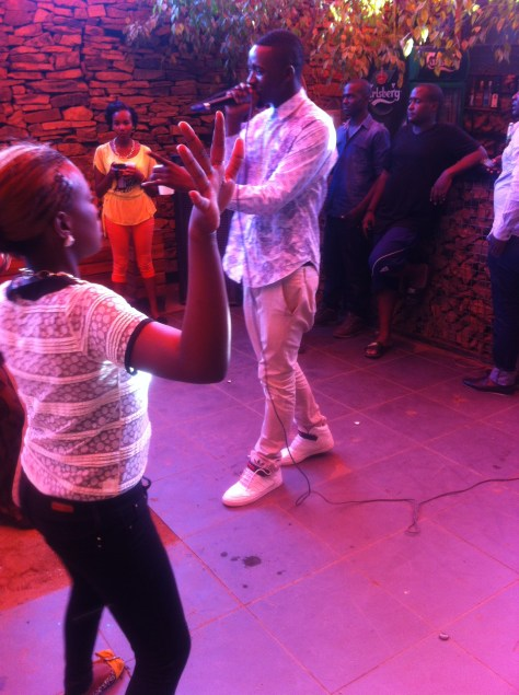 Dali made the girls go crazy with an amazing performance
