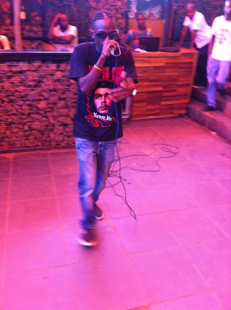 Inkosi Mwanache dropping bars
