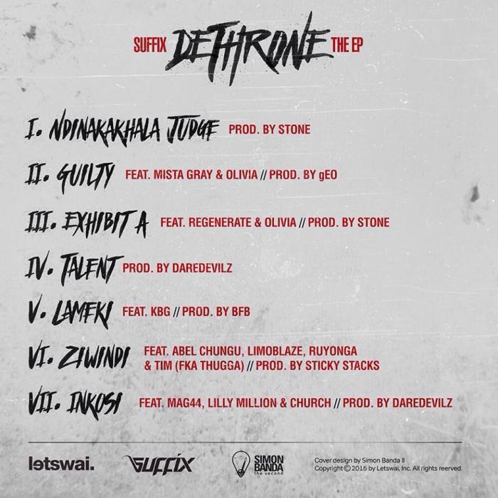 Dthrone EP album cover