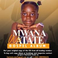"""MALAWI'S YOUNGEST ARTIST DROPS ALBUM """"MWANA WA ATATE"""""""