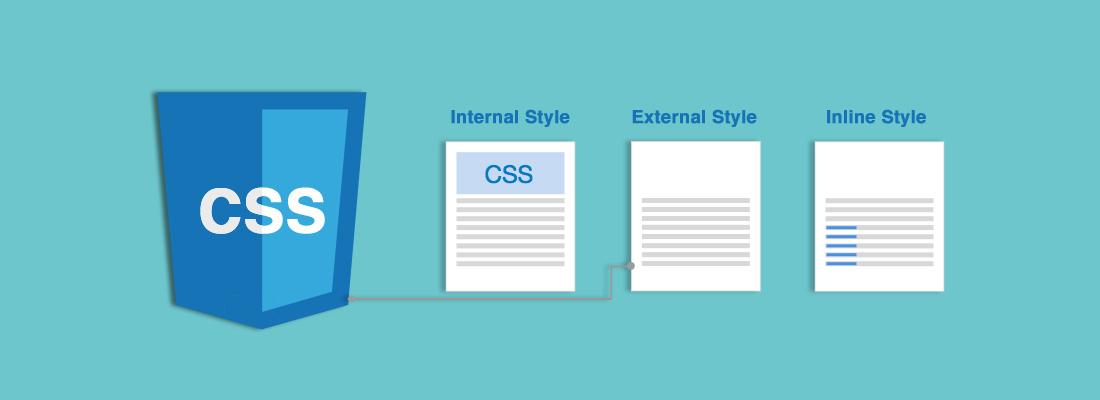 CSS-inline,internal,external
