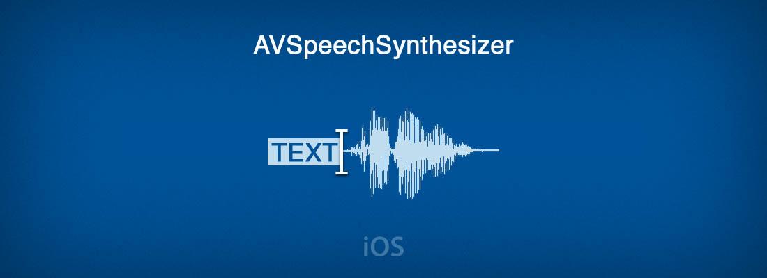 AVSpeechSynthesizer