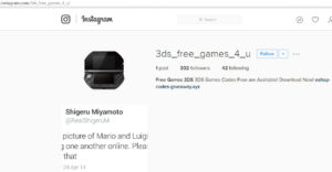 Free 3DS games scam