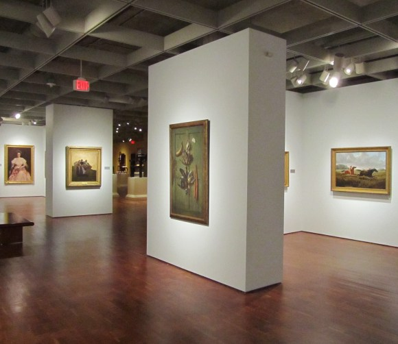 American Paintings gallery, August 2011. Photo by Mel Buchanan.