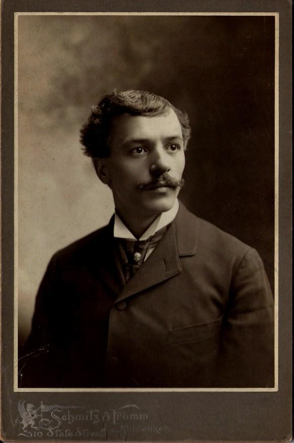Cyril Colnik, ca. 1890. Courtesy Villa Terrace Decorative Arts Museum.