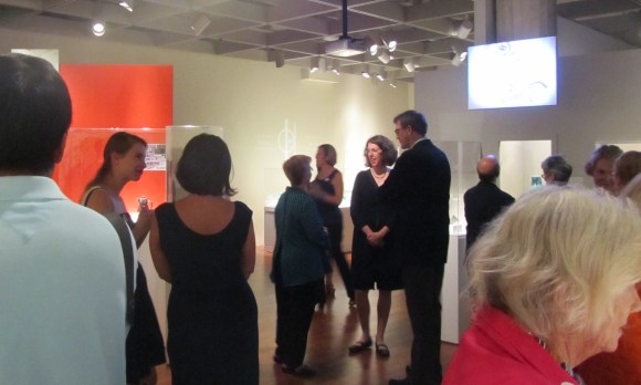 "Opening of ""Grete Marks: When Modern Was Degenerate."" Photo by Liz Siercks."