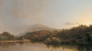 Frederic Edwin Church (American, 1826–1900), A Passing Shower, 1860. Oil on canvas. Milwaukee Art Museum, Layton Art Collection, Inc. L107. Photo credit: Larry Sanders.