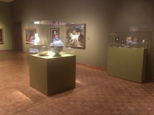 Gallery with Portrait Miniatures at Milwaukee Art Museum. Photo credit: Tina Schinabeck.