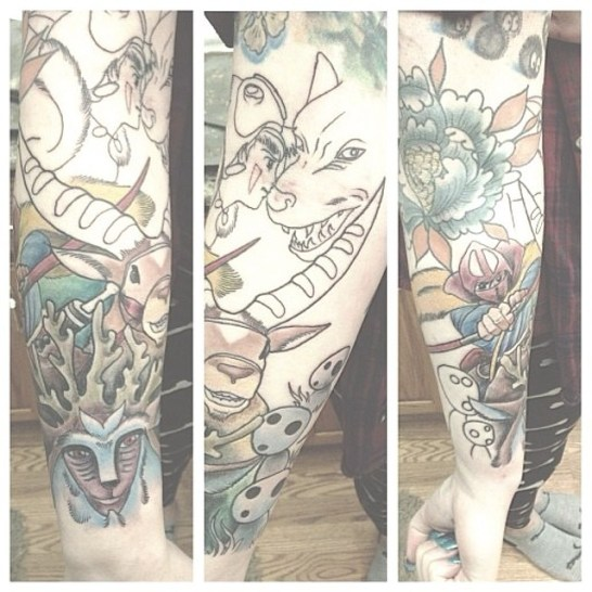 ghibli-tattoos-tattoo-princesse-mononoke-arms-miyazaki-tatouage-anime-online-manga-tv-legal-gratuit