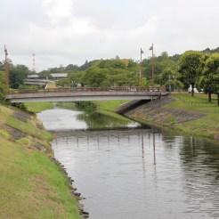 Fluss durch den Park