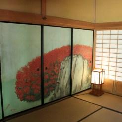 Tatamizimmer mit Trennwänden