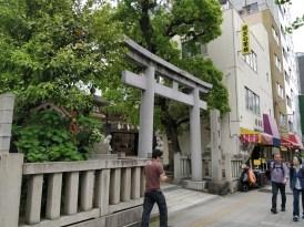 Mitten in der Nachbarschaft - ein Tempel/Schrein