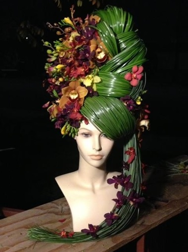 5 Fashion Themed Floral Centerpieces Using Mannequin Heads