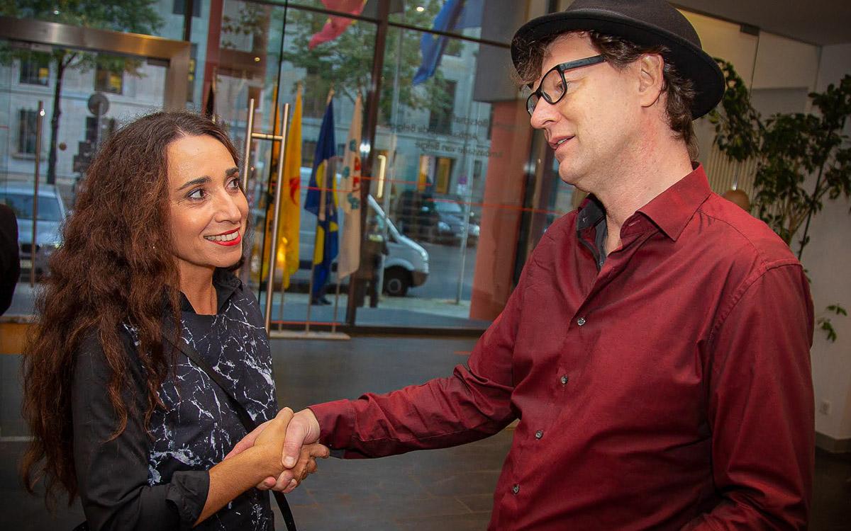 Der Fotograf F.M. Arndt in der<br>Belgischen Botschaft 7