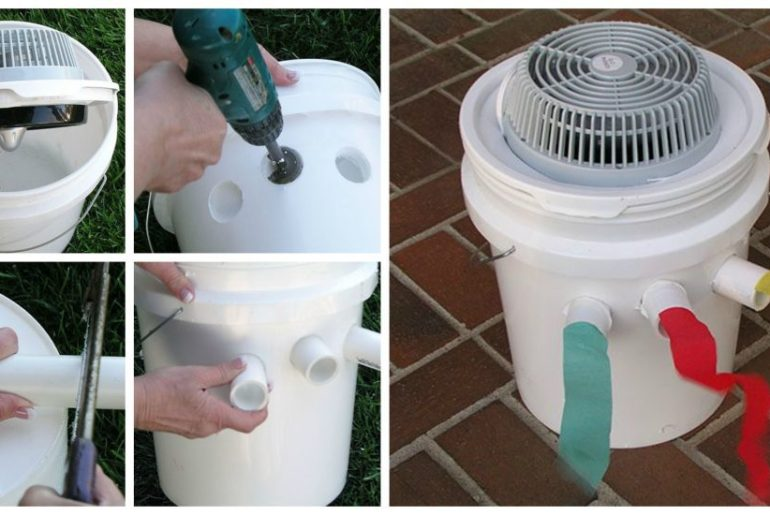 diy quiet portable air conditioner the handy mano. Black Bedroom Furniture Sets. Home Design Ideas