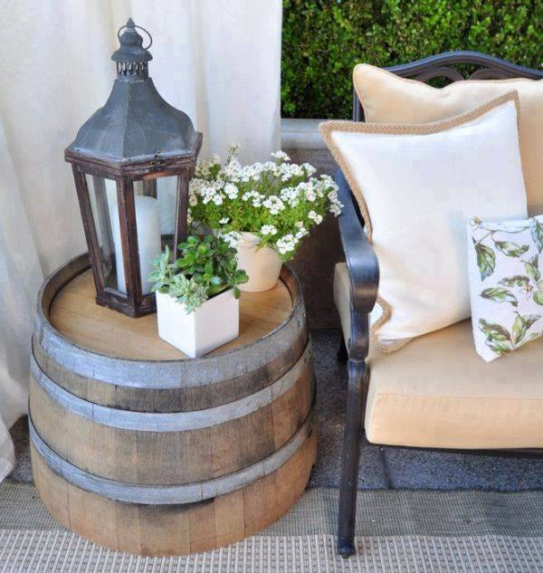 barrel end table DIY Handy Mano ManoMano Mano Mano Handymano