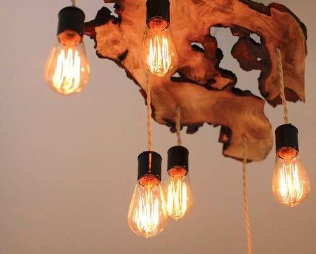stunning lights; natural, wood, DIY, lights shade, lighting, chandelier, light, feature