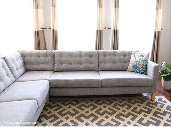 Ikea Furniture Hacks tufted cushions Handy Mano ManoMano Mano Mano Handymano
