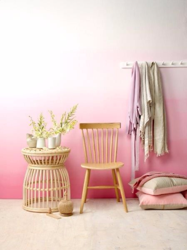 feature wall paint ideas the handy mano manomano mano mano ombre pink
