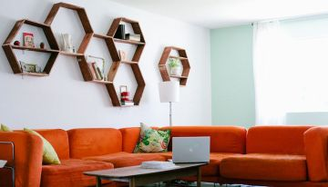 Stunning And Simple DIY Shelving Ideas