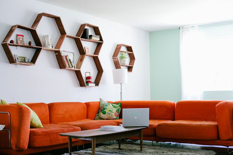 diy shelves in living room furniture for rooms stunning and simple shelving ideas the handy mano